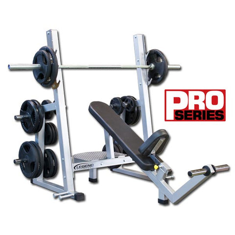Legend Fitness Pro Series Olympic Incline Bench - 3241