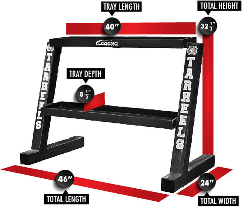 LEGEND FITNESS KETTLEBELL RACK - 3317, 3257
