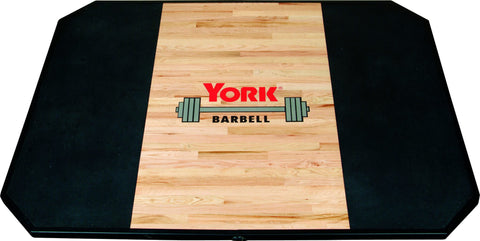 York Barbell Solid Red Oak Platform (Free Standing)