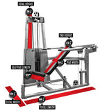 LEGEND FITNESS MULTI PRESS COMBO - 963