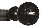 CFF Rubber Olympic Bumper Plates - CFF FIT