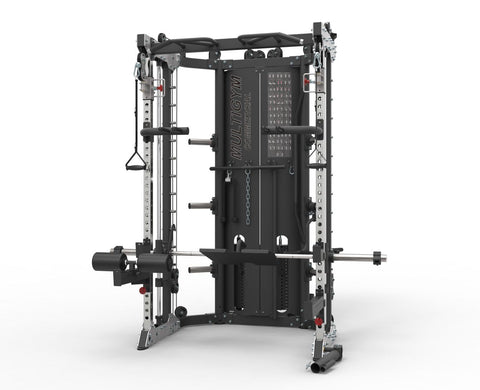 CFF Strength Training Gym - Functional Trainer - Power Rack