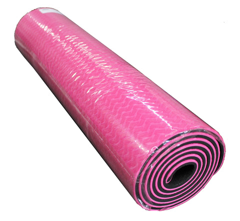 PINK YOGA MAT - THICK