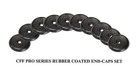 rubber dumbbell end caps