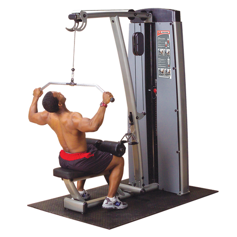 BODY SOLID PRO DUAL LAT MID ROW - DLAT-SF