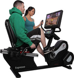 EXPRESSO FITNESS HDR Recumbent BIKE W INTERACTIVE SCREEN_indoor cycling_bike.1