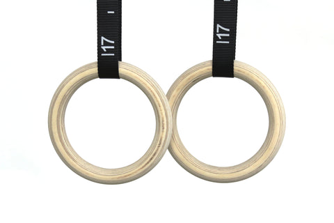 WOOD GYM RINGS