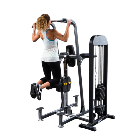 BODY SOLID WEIGHT-ASSIST KNEE RAISE, DIP & CHIN FCD-STK