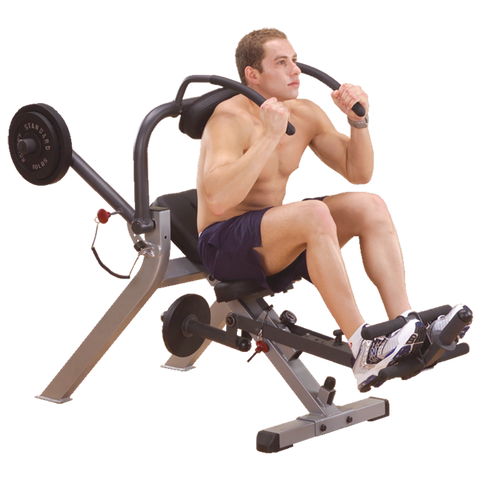 BODY SOLID SEMI-RECUMBENT AB BENCH - GAB300