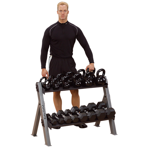 dumbbell kettlebell rack storage