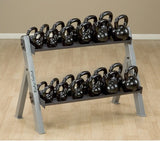 15 lb. Body Solid Kettlebells - Black Iron - CFF FIT