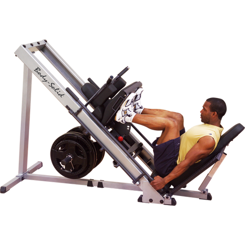 BODY SOLID LEG PRESS & HACK SQUAT - GLPH1100
