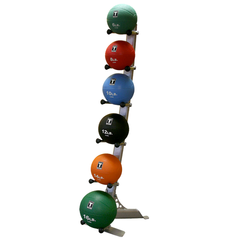 body solid rubber medicine ball rack