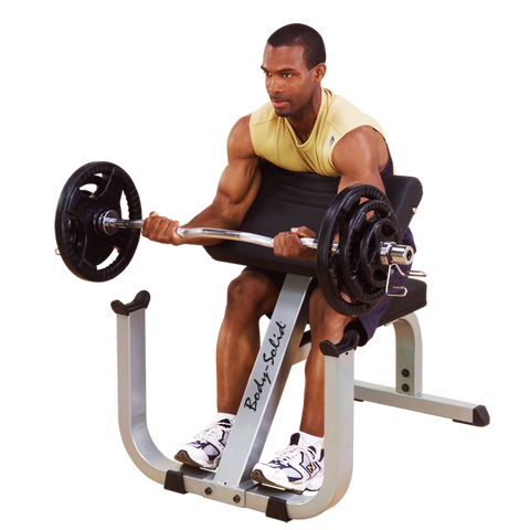BODY SOLID PREACHER CURL BENCH - GPCB329