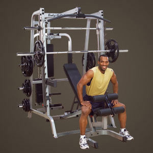 BODY SOLID SERIES 7 SMITH GYM - GS348QP4