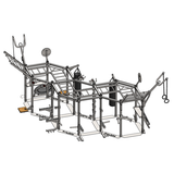 body solid hex pull up rig sr-hextplp4