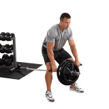 Bent Over Barbell Row - BODY SOLID T-BAR ROW