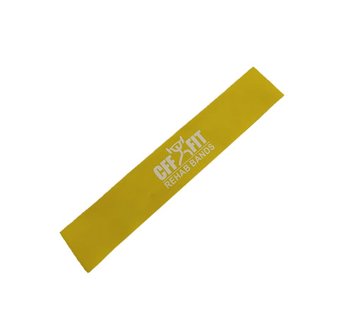 "12"" RESISTANCE BAND LOOP - YELLOW"