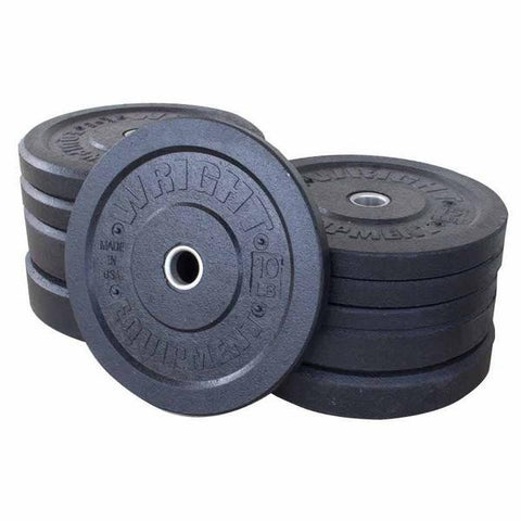 wright usa bumper plates