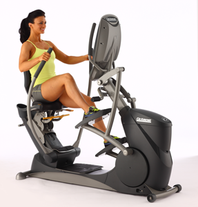 OCTANE FITNESS XR6000 RECUMBENT ELLIPTICAL W/ TOUCHSCREEN