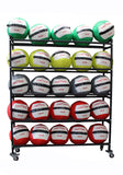 WALL MEDICINE BALL RACK