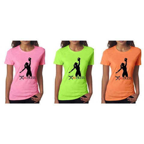 womens kettlebell t-shirt