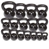 5 lb. Body Solid Kettlebells - Black Iron - CFF FIT