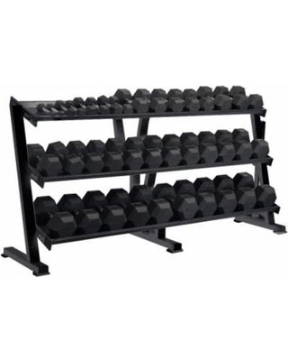 YORK HEX PROFESSIONAL TRAY DUMBBELL RACK