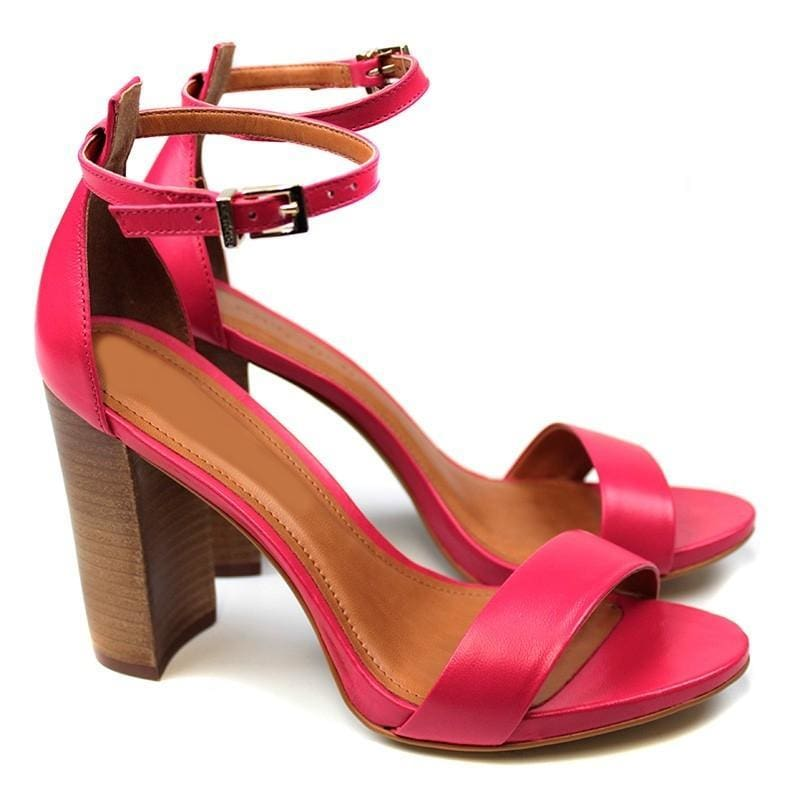26ca8c83159c Di Biale Leather Shoes - Gio Pink Leather Sandal