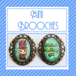 Mini Brooches