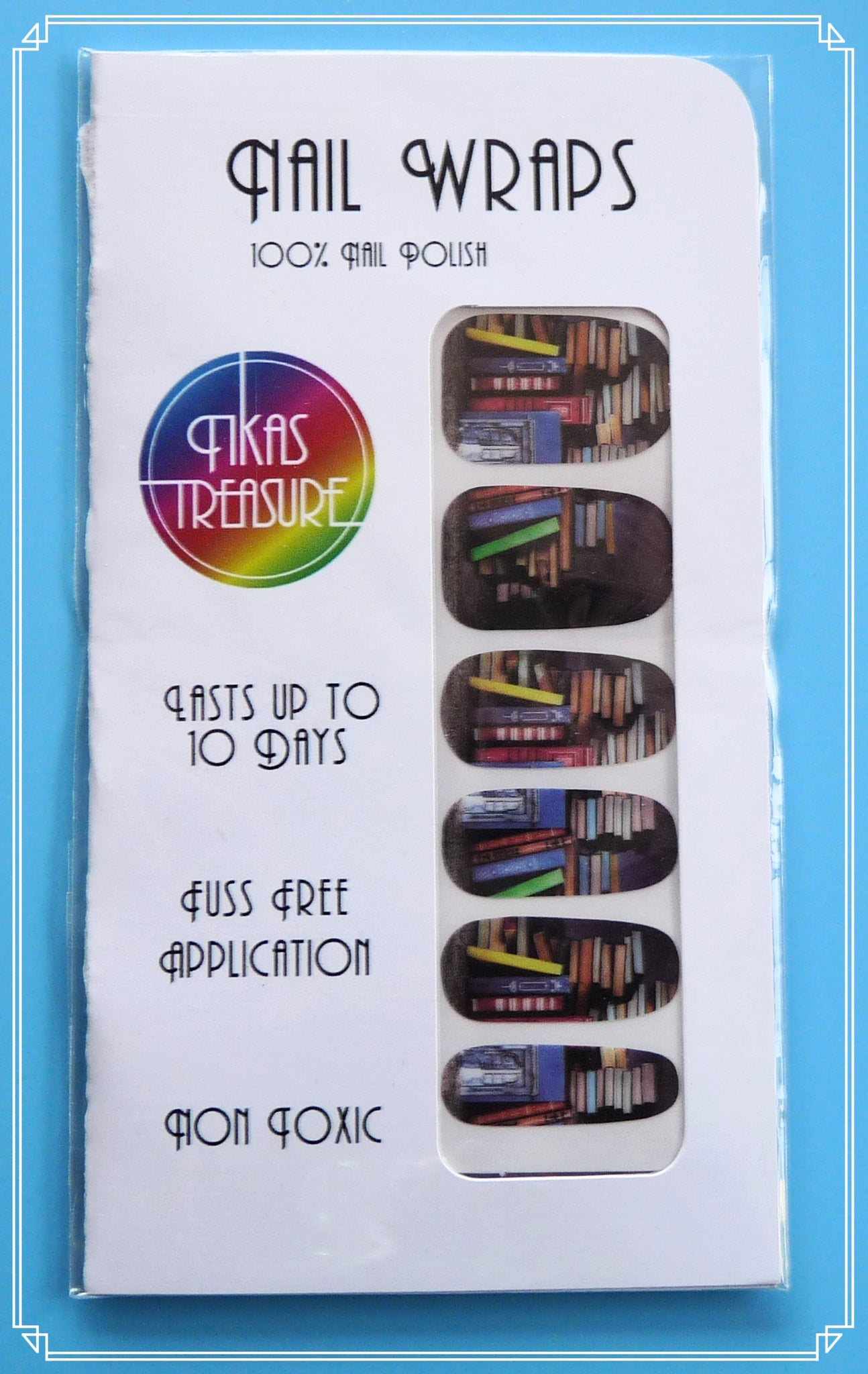 Bookish - Nail wraps