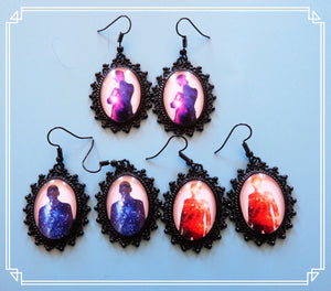 Custom Order for Erin - drop earrings