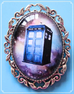 Police Box Galaxy brooch is part of my Sci-Fi collection.