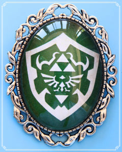 The Wingcrest brooch is part of my fantasy collection and inspired by The Legend of Zelda.