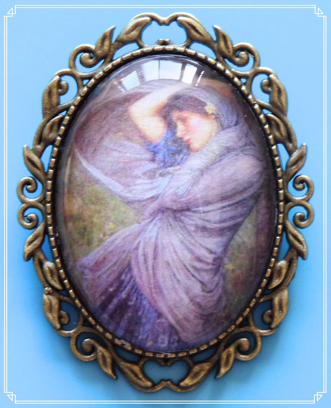 Boreas is a a painting by John William Waterhouse created in 1903.  It is part of my Colour Your World collection.