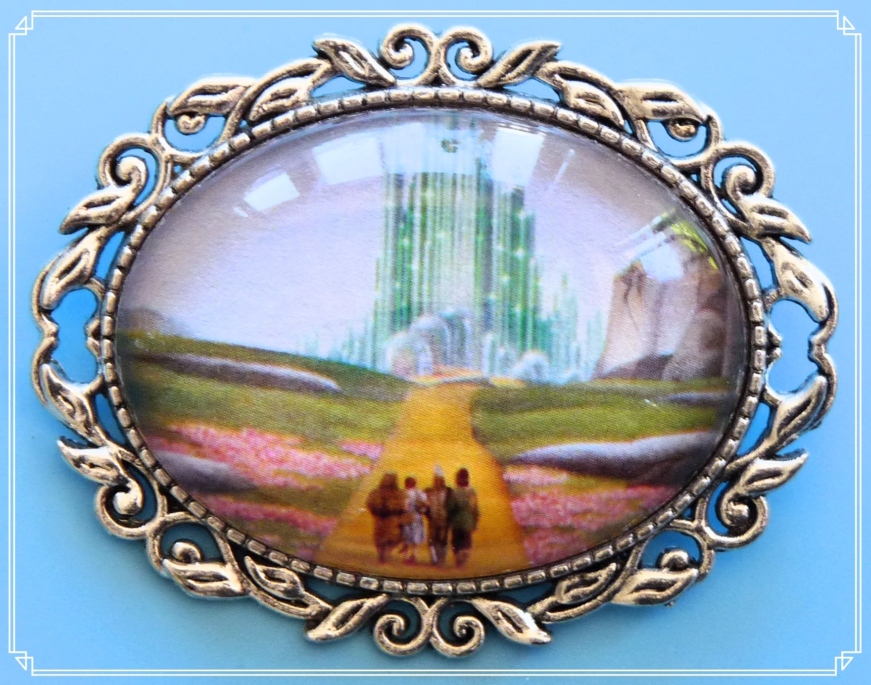 Dorothy - The Yellow Brick Road brooch