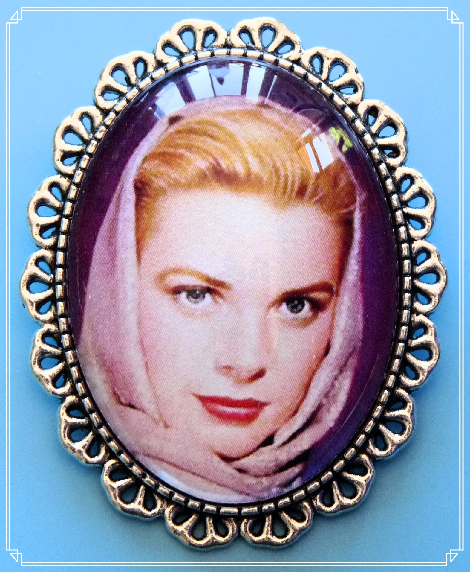 Silver Screen Sirens - Graciebird brooch