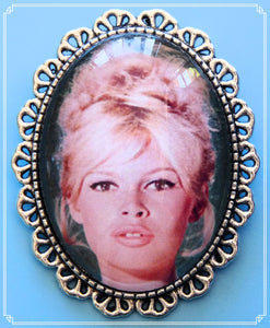 Silver Screen Sirens - BB brooch