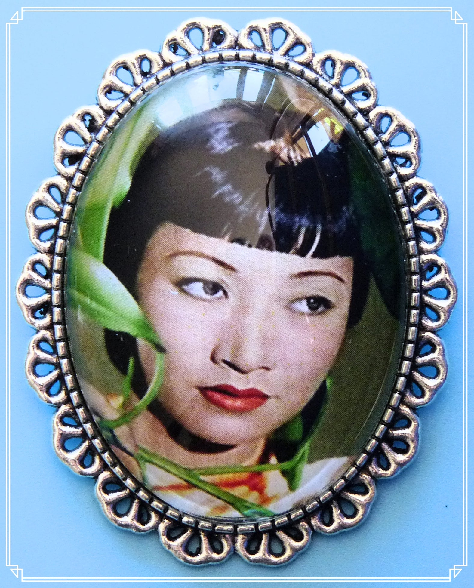 Silver Screen Sirens - Liu Tsong brooch