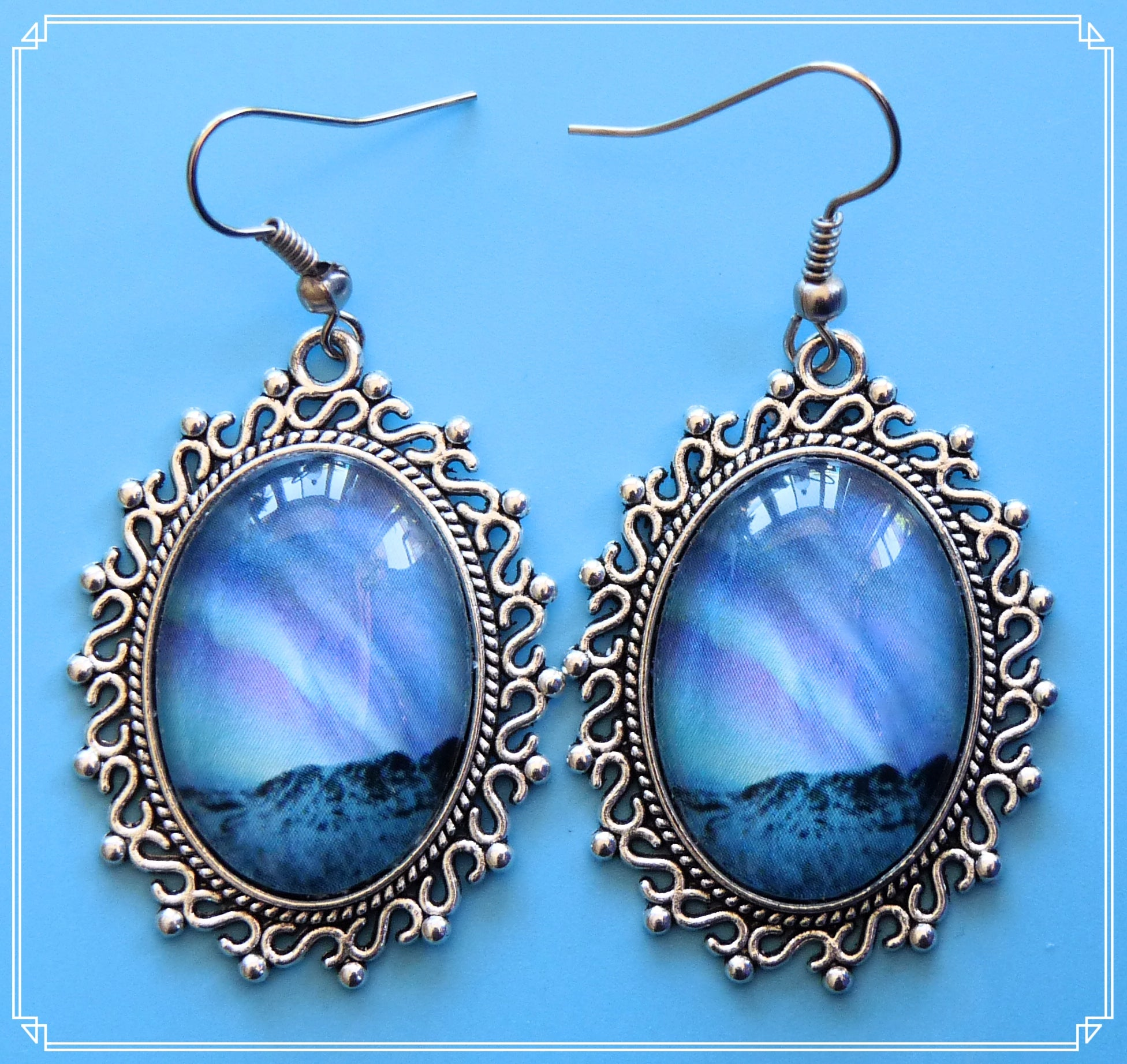 Northern Lights - Whistle or Clap? earrings