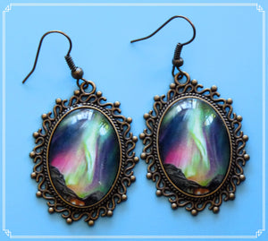 Northern Lights - Merry Dancers earrings