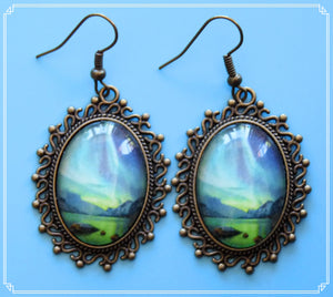 Northern Lights - The Wedding Feast earrings