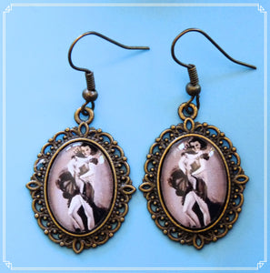 Cabaret Dancers - Sabrina earrings