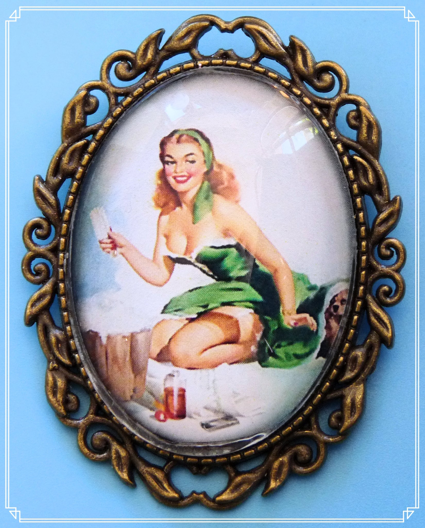 Pinup Peaches - Dotti  brooch