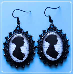 Velvet & Lace - Jane Austen earrings