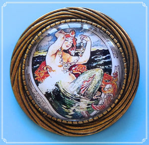 Enchanted Oceans - Galene brooch