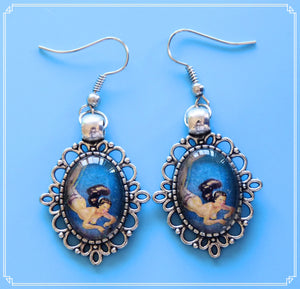 Enchanted Oceans - Ianthe earrings