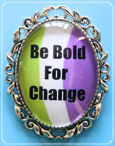 Be Bold for Change, suffragette edition