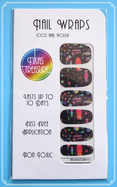 Science is Cool - Nail wraps