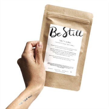 Be Still Bath Tea Bag - Lavender & Orange - Salt + Glow - Pop Up Kindness